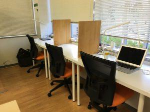 千葉コワーキングスペース201の椅子が新しくなりました。