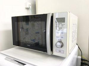 千葉コワーキングスペースの備品 電子レンジ